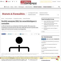 Société anonyme (SA): connaître ce statut