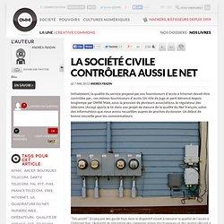 La société civile contrôlera aussi le Net