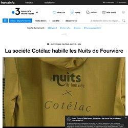 La société Cotélac habille les Nuits de Fourvière