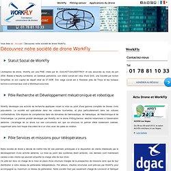 Société de drone WorkFly