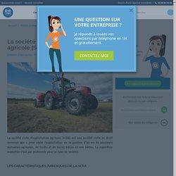 La société civile d'exploitation agricole (SCEA)