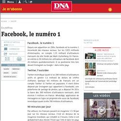 Facebook, le numéro 1