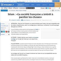 France : Islam : «La société française a intérêt à pacifier les choses»
