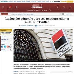 La Société générale gère ses relations clients aussi sur Twitter