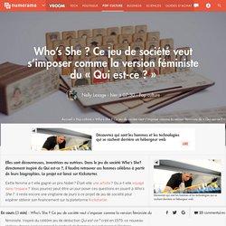 Who's She? Ce jeu de société veut s'imposer comme la version féministe du « Qui est-ce ? »