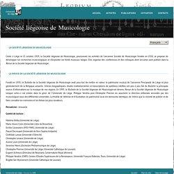 Revue de la Société liégeoise de musicologie