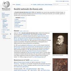 Société nationale des beaux-arts
