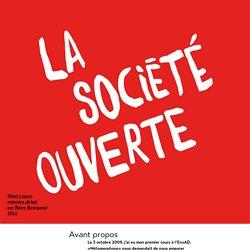 La société ouverte par Elliot Lepers