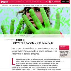 COP 21 : La société civile se rebelle