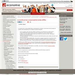 La société privée à responsabilité limitée (SPRL)