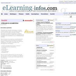 Société - STRASS E-LEARNING