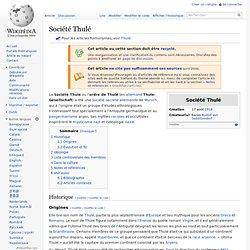 Société Thulé