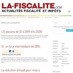 Impôts sur les sociétés Archives - La Fiscalité