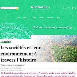 Les sociétés et leur environnement à travers l'histoire
