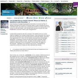 Les sociétés face au risques naturels. Retour sur Katrina: 2 questions à Julie Hernandez - Globe