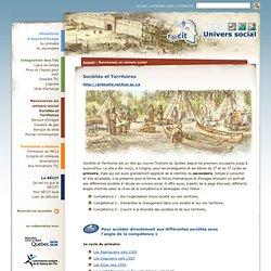 RECITUS: sociétés et territoires
