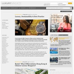 Business news for the luxury industry