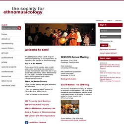 Society for Ethnomusicology