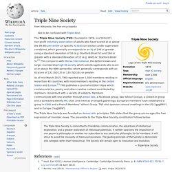 Triple Nine Society