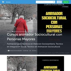 Cursos animador Sociocultural con Personas Mayores (with images) · Animacion