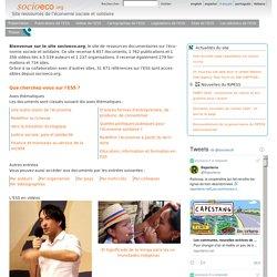 - Site ressources de l'économie sociale et solidaire
