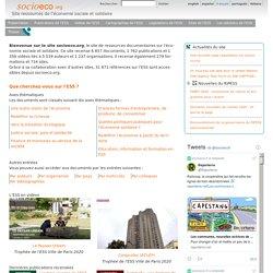 Site ressources de l'économie sociale et solidaire