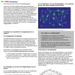 6- L'outil sociogramme