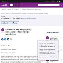 Les écoles de Chicago (4/4) : Naissance de la sociologie américaine