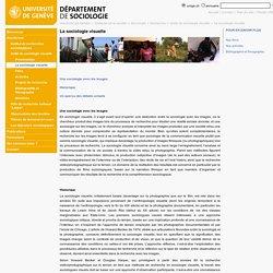La sociologie visuelle - Département de sociologie - UNIGE