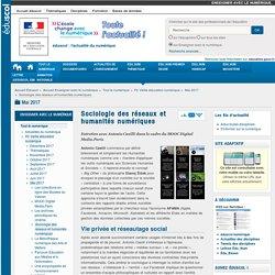 Sociologie des réseaux et humanités numériques — Enseigner avec le numérique