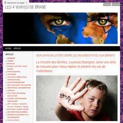 UN PLAN POUR LUTTER CONTRE LES VIOLENCES FAITES AUX ENFANTS - POLITIQUE, ÉCONOMIE, SOCIOLOGIE, SCIENCES, MUSIQUE, CINÉMA, ART, ÉCOLOGIE, AVIATION, PHILOSOPHIE, HU