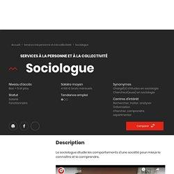 Sociologue