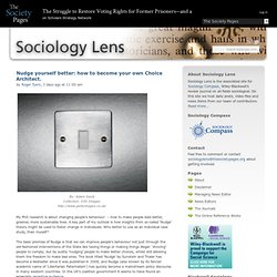 Sociology Lens » news. resources. commentary.