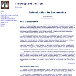 Sociometry