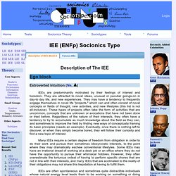 Description of IEE's Model A