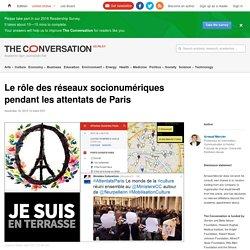 Le rôle des réseaux socionumériques pendant les attentats de Paris