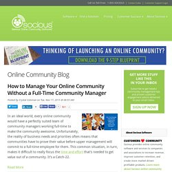 Socious Online Community Blog