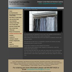 Socket Brackets and Shower Curtain Rods