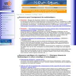 Socle commun - Académie de TOULOUSE