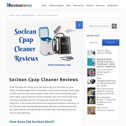 Soclean Cpap Cleaner Reviews