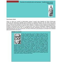 Socrate, eudémonisme et hédonisme