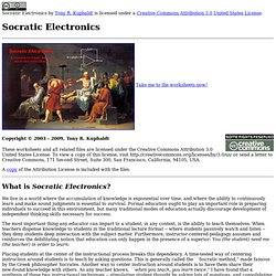 Socratic Electronics