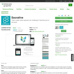 Socrative Educator Review