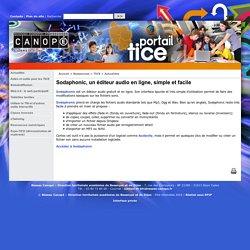 Sodaphonic, un éditeur audio en ligne, simple et facile