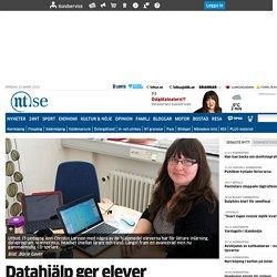 Datahjälp ger elever aha-upplevelse - Söderköping