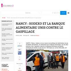 ICI C NANCY 11/04/15 Nancy : Sodexo et la banque alimentaire unis contre le gaspillage