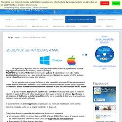 Sodilinux per Windows e MAC