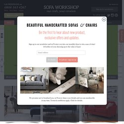 Sofas, Leather Sofas and Sofa Beds from Sofa Workshop