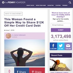 SoFi Saved This Woman $12,000 on Her Credit Card Debt