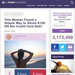 SoFi Saved This Woman $12,000 on Her Credit Card Debt